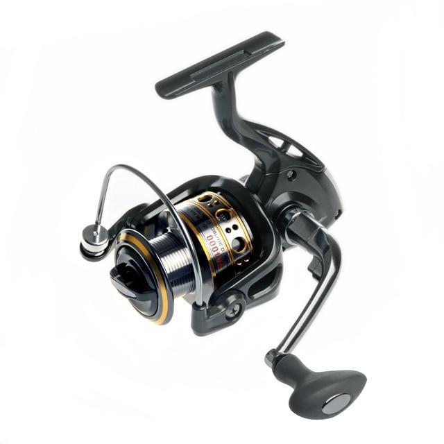 Biggest Discount!!!New 12+1BB Spinning Fishing Reel Fishing reel  Carp Ice Fishing Gear 5.5:1 Real  Bait Casting Carp Wheel