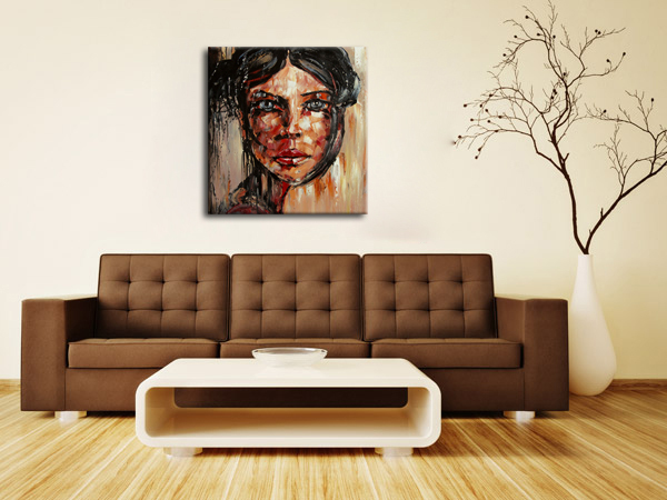 Wall Portraits Living Rooms