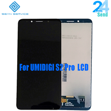 For UMIDIGI S2 PRO LCD Display+Touch Screen Digitizer Assembly 6.0 inch 2160*1080P Original New for Pro +Tools