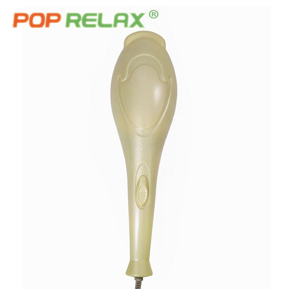 POP RELAX elektrisk vibrator jade massasjeapparat lys oppvarming - Helsevesen - Bilde 5