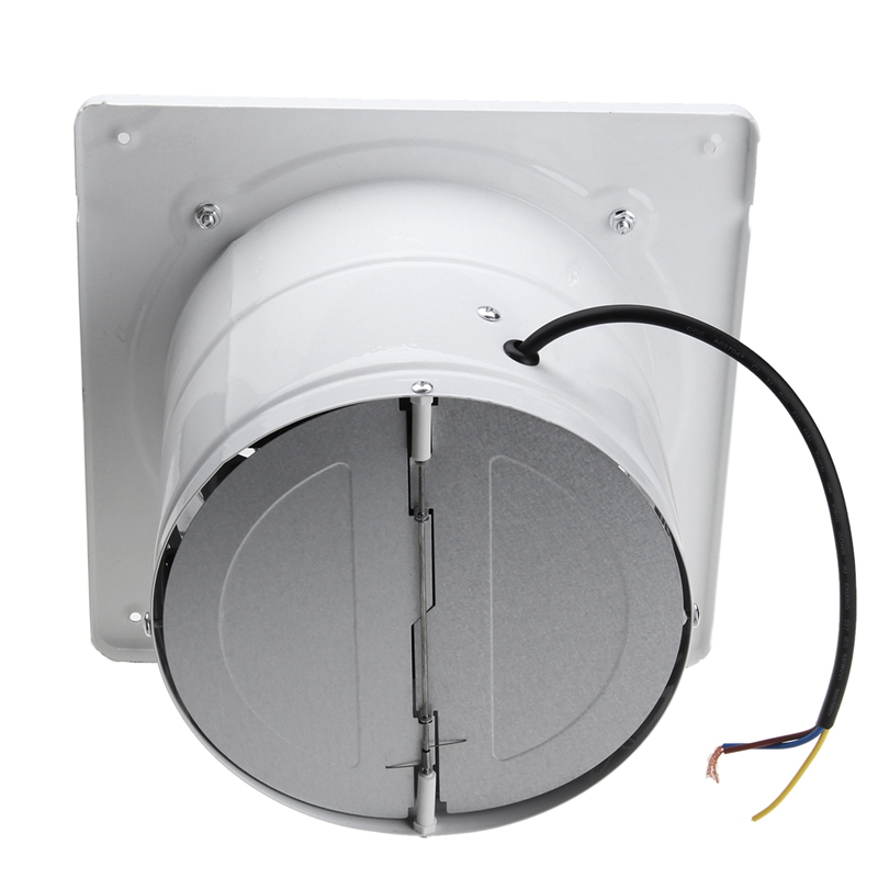 Warmtoo 7inch 60W Duct Booster Fan Exhaust Blower Air Cleaning Cooling Vent  Metal Blade Ceiling Wall Window Bathroom Kitchen Fan In Fans From Home ...