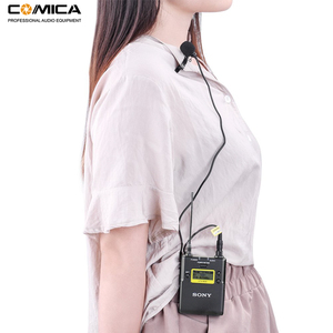 Image 5 - Comica CVM M O2 3.5mm Lavalier Microphone Omnidirectional Lapel Microphone for Sony Wireless Microphone Transmitter