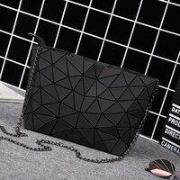 Cathylin Famous Brand New Arriaval Women Bag Rainbow Colors Diamond Lattice Geometry Handbag Geometric Mosaic Messenger Bags