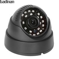 GADINAN NEW Home Full HD Surveillance 2MP AHD Indoor Mini Black Dome Security 1080P CCTV Camera