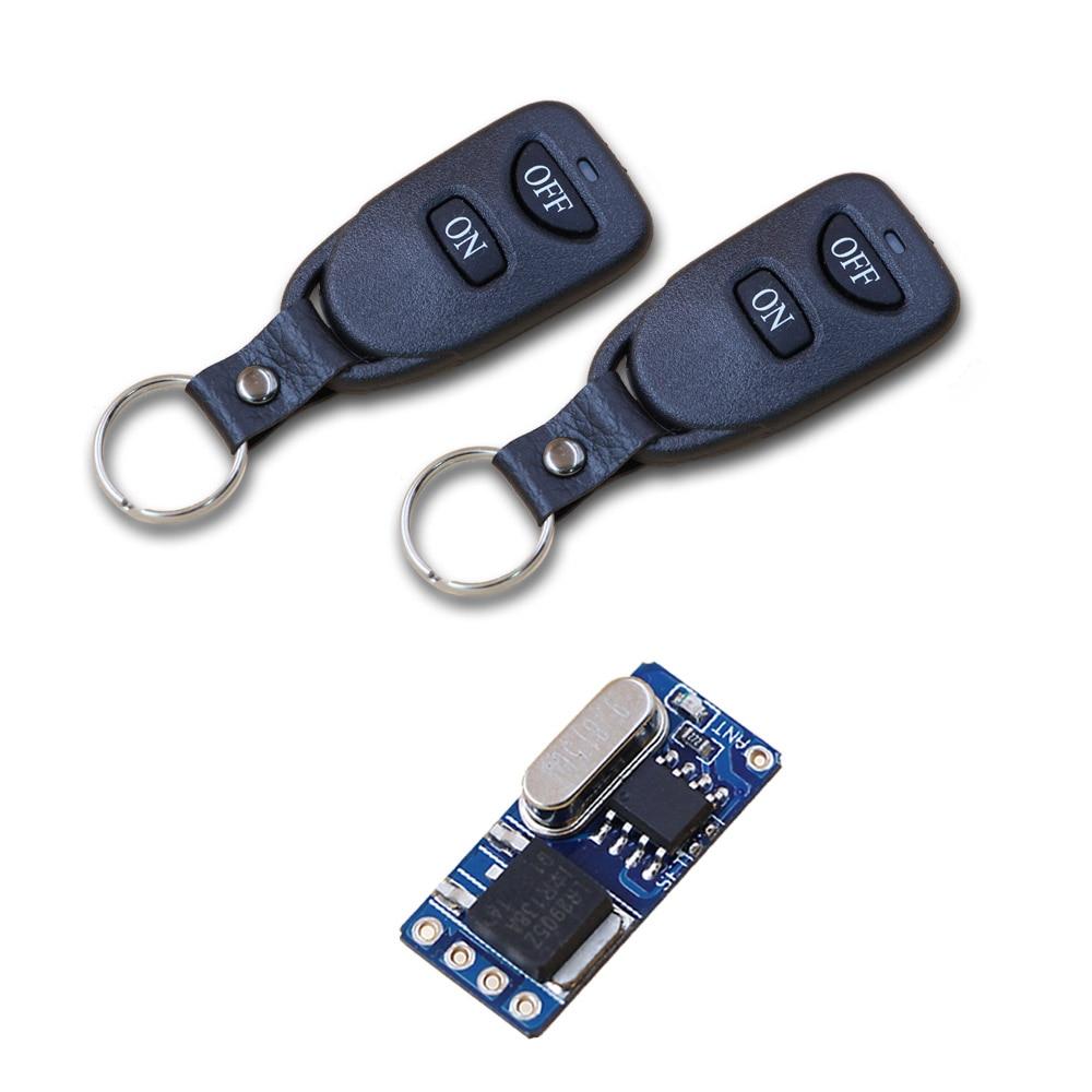 Rf Circuit Remote Control Switch Mini Contactless Wireless 1a Dc 37v 42v 5v 6v 74v 9v 12v Radio Lighting
