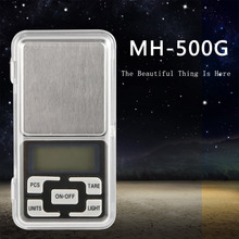 1pcs New Free Shipping 500g 0.1g Scale Electronic Mini Digital Pocket Weight Jewelry Diomand Balance digital scale LED