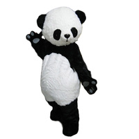 Manufacturers Wholesale Adult size New version Chinese Giant Panda Mascot costume Christmas Mascot costume Free Shipping