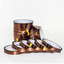 Hot Sale 12mm x 30m High Temperature Heat Resistant Polyimide Anti-heat Adhesive Tape 260-300 Degree