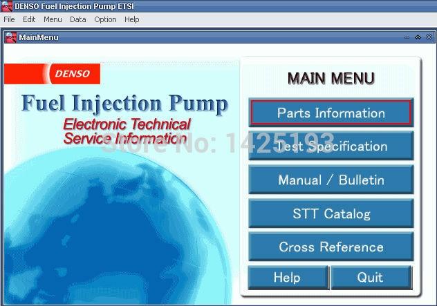 Denso Fuel Injection Pump ETSI 2015
