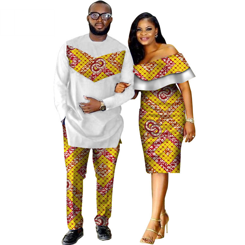 African-Dashiki-Print-Couple-Clothing-for-Lovers-Two-Piece-Set-Men-s-Suit-Plus-Women-s(7)