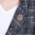 LONMMY M-3XL homens casaco Longo de Lã homens do revestimento de Trincheira Blusão jaqueta Single-breasted Casual xadrez masculino 2016 Outono Inverno