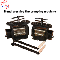 Hand pressing the crimping machine GH774H-1 manual pressing bar bending machine 130mm hand press 1pc