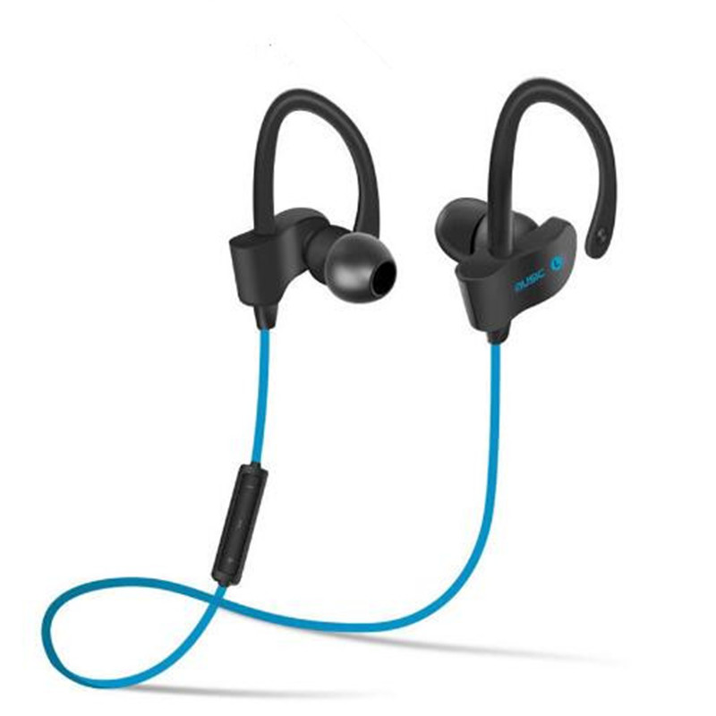 Correr deportes wireless auriculares bluetooth bt 4.1 stereo bass auriculares in