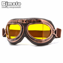 Bjmoto Universal Motorcycle Motorbike Multi-color Vintage Helmet Eyewear Goggles Retro Riding Glasses goggles