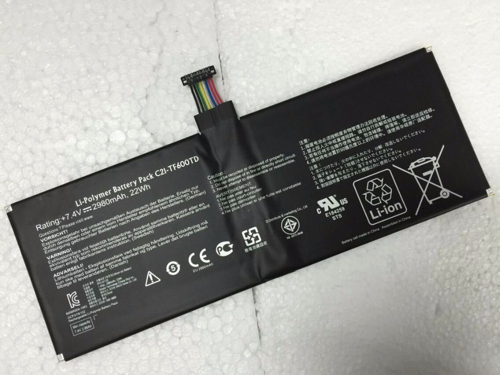 ALLCCX high quality mobile phone battery C21 TF600TD for ASUS Vivo Tab TF600T