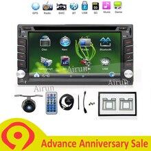 2 DIN Car DVD GPS Player Per NISSAN QASHQAI PATROL TREEANO VERSA MURANO LIVINA NAVARA MP300 NV200 SENTRA Radio Stereo in Dash