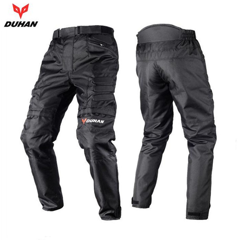 DUHAN Men s Windproof Motorcycle Enduro Riding Trousers Motocross Off Road Racing Sports Knee Protective Sports