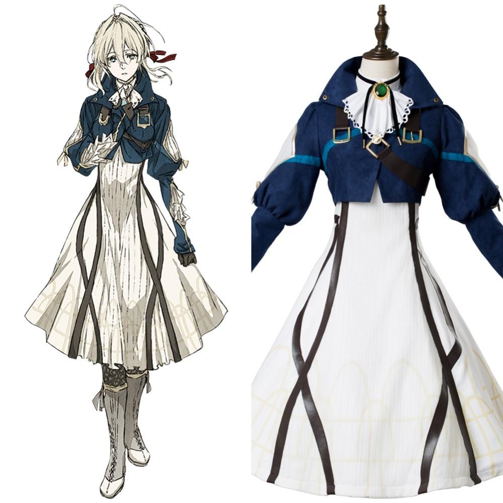 Custom Violet Evergarden Benedict Blue Anime Uniform Men Women Cosplay Costume Washhounds Com