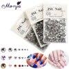 1200Pcs/Bag Multisize Nail Art Diamond Gem Style Shiny Rhinestone Beads Gel Polish Tips 3D DIY Glitter Sparkly Jewelry Accessory
