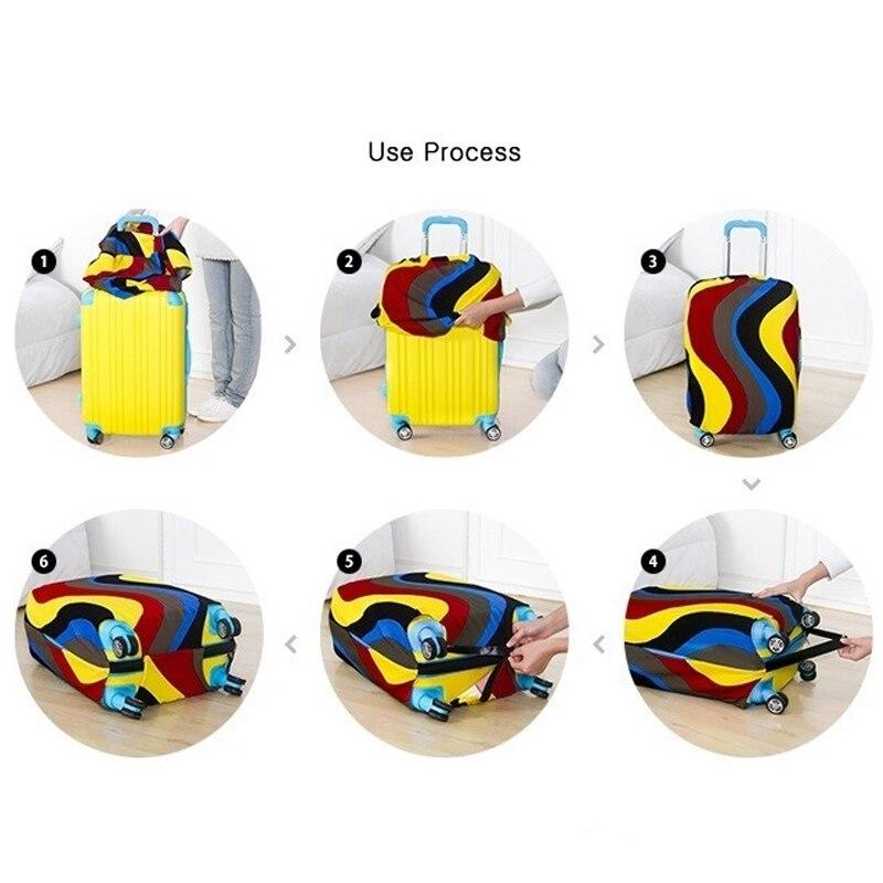 de viagem bolsaagem tampa protetora S Size Cover : For 18-20 Inch Suitcase