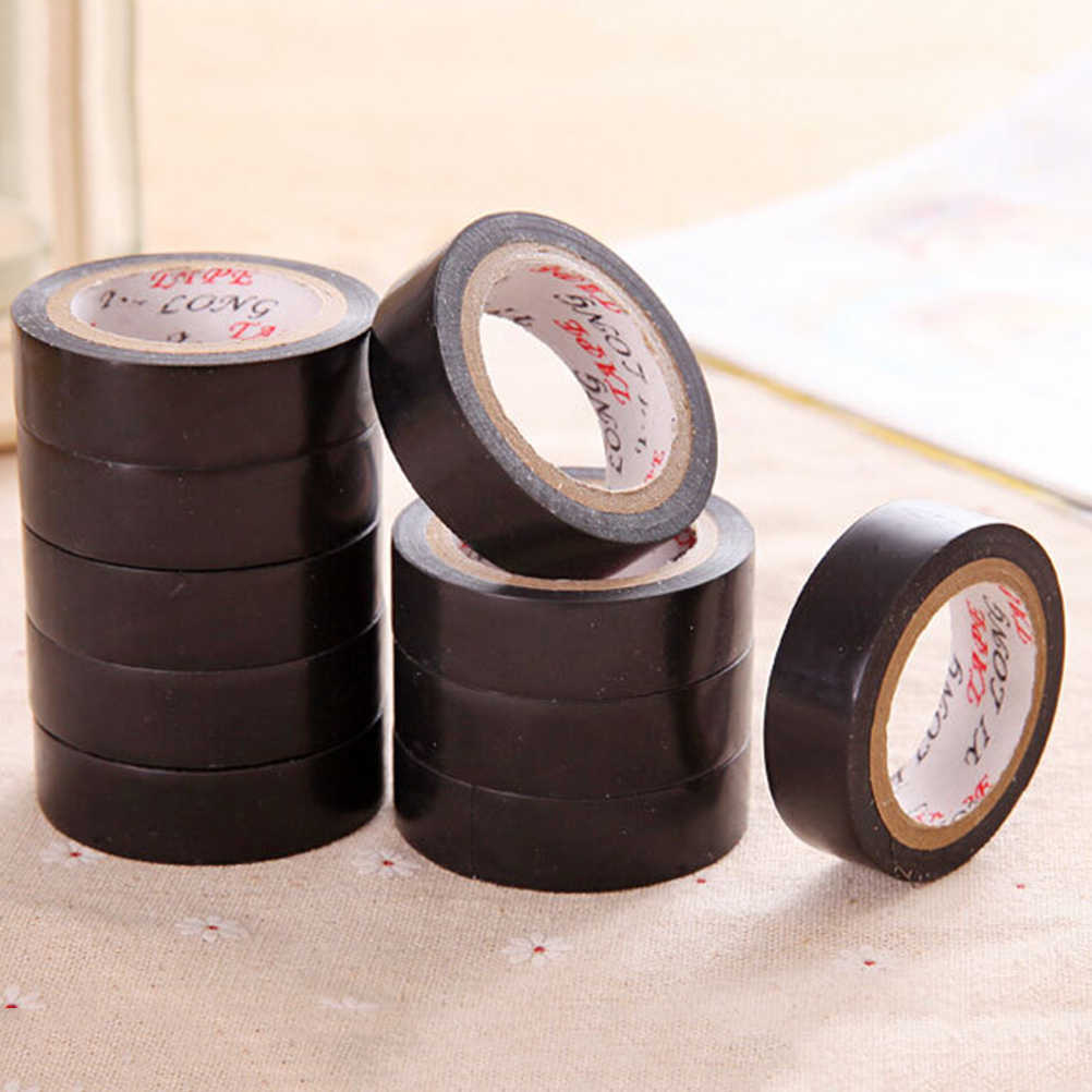 Good Quality PVC Insulating Tare Electricians Electrical Insulation Tape Black