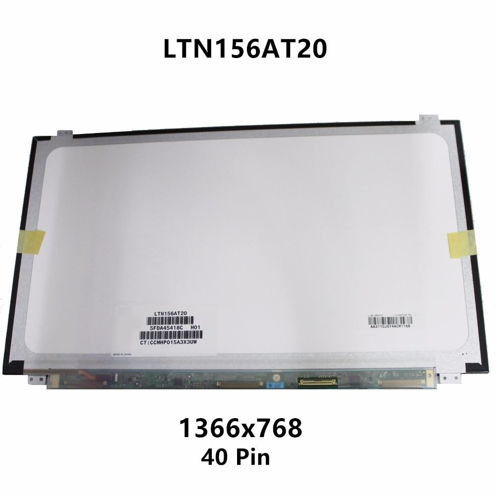 15.6'' Laptop LCD Screen Display Matrix Panel Replacement LTN156AT20-P01 LTN156AT20-001 For ASUS X502CA X502C X502CA-TS31 RB01 lcd laptop screen 15 6 flat panel ltn156at05 ltn156at05 307 lp156wh4 15 6 screen display replacement