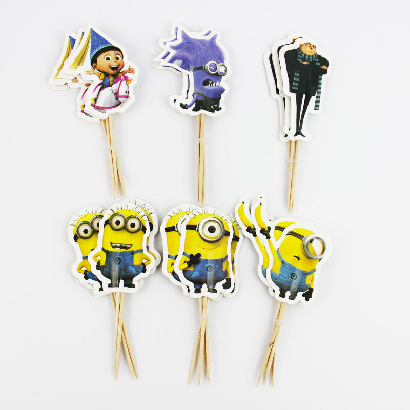 Despicable Me Cake Toppers Australia
