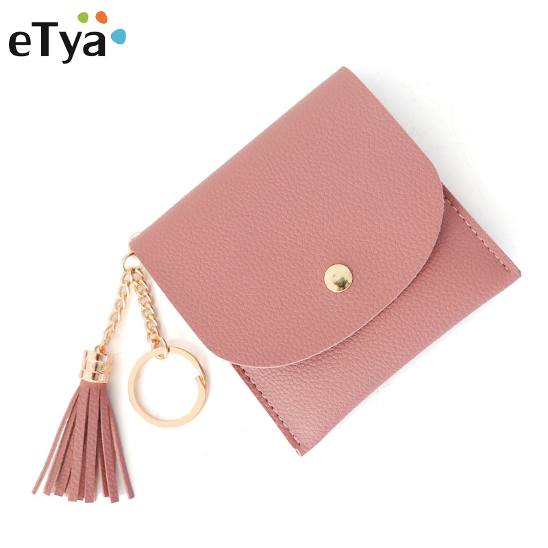 Tassel Wallets Ladies Mini Clutch Wallets For Women Fashion PU Leather Female Bags ID Card Holders Wallet purses Lady Bag big capacity women wallets ladies clutch female fashion leather bags id card holders cell phone cash wallet ladies purses bolsas