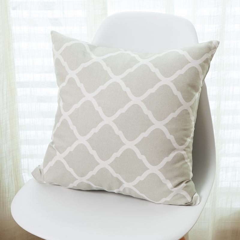 actionclub fundas de colchn moderno simple modelo del diamante funda de almohada home sof decorativo almohadas cojines coche