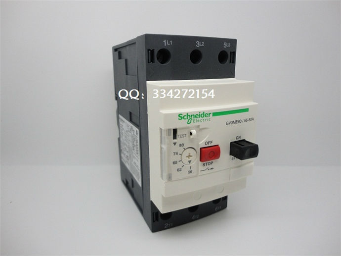 Motor Protector GV3 Series GV3ME80 GV3-ME80 GV3ME80C GV3-ME80C 56-80A gv3 m20 gv3 m25 gv3 m40 gv3 m63 gv3 m80 motor protection switch10 16amps 16 25amps 25 40amps 40 63amps 56 80amps