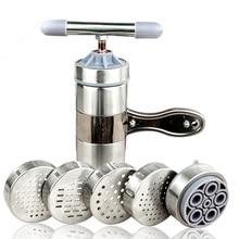 Сталь лапши чайник с 5 моделей руководство Лапша Пресс паста машина кухонные инструменты овощи фрукты соковыжималка
