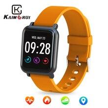 Купить с кэшбэком Smart Watch 2.5D IPS Screen Gorilla Glass Fitness Bracelet Blood Pressure Heart Rate IP68 Waterproof Activity Tracker Smartwatch