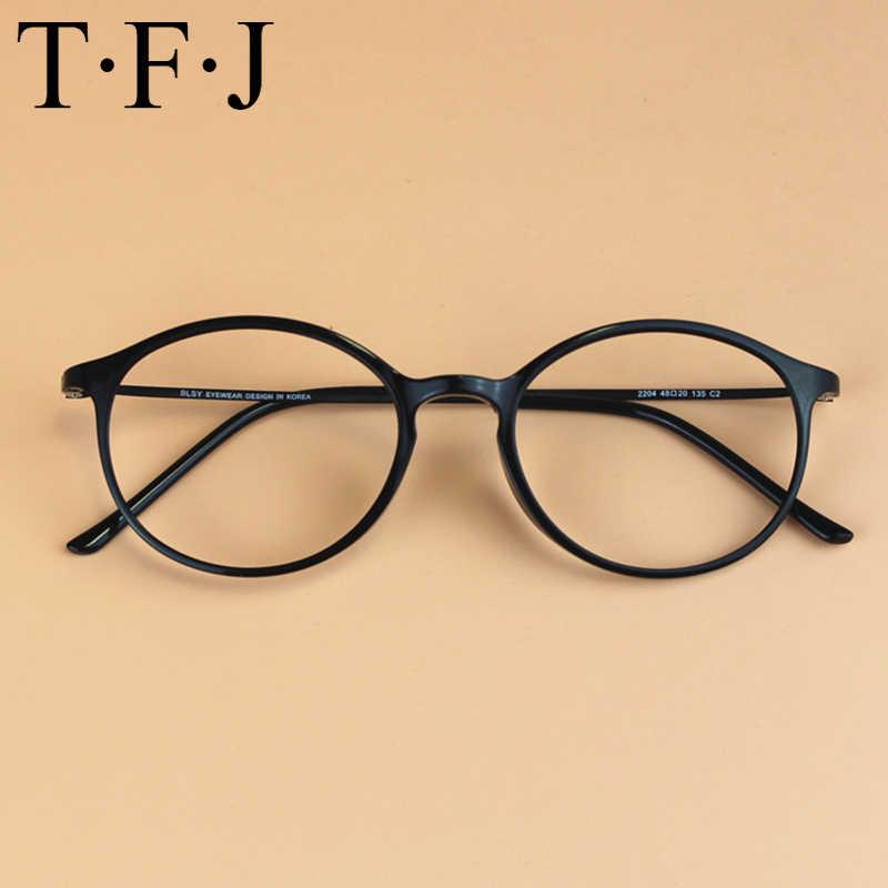 ae4bf9b1da01 TFJ New Style Men and women Fashion Vintage Eyeglasses Frame Optics Clear  lens Reading Glasses Retro