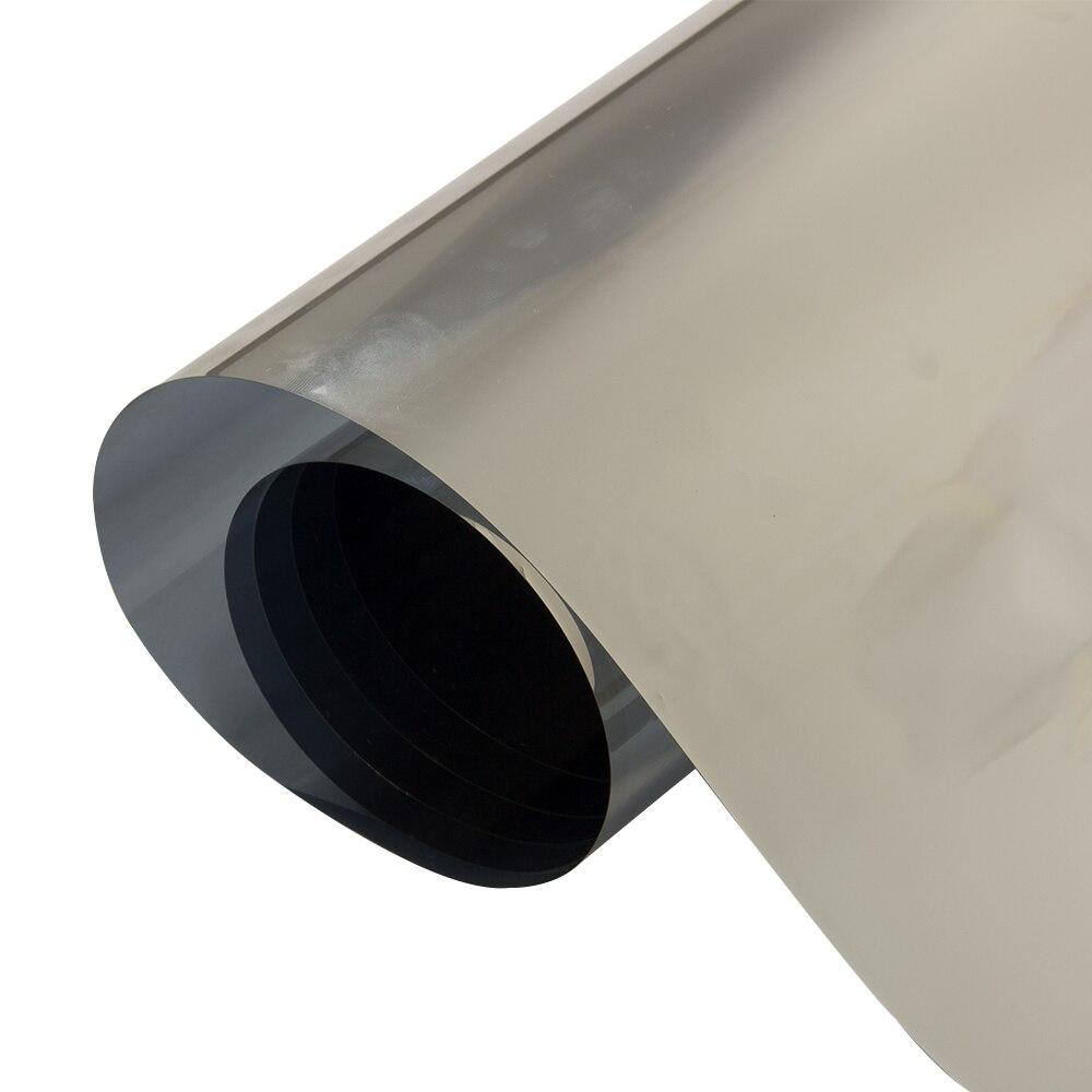 Largeur: 80 cm vente en gros 1 rouleau Film de fenêtre en argent miroir unidirectionnel teinte solaire réfléchissant Home Store décor de fenêtre 10 m/20 m/30 m