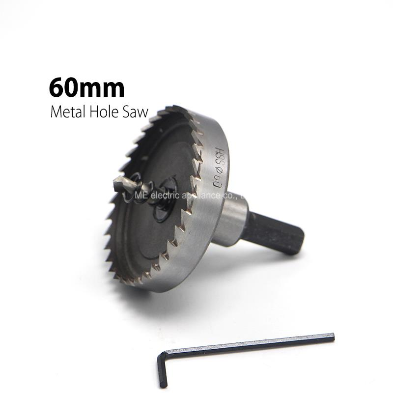 цена на 1Pc 60mm 2.36 Core Drill Bit Metal Hole Saw High Speed Steel Core Special for HSS Stainless Steel