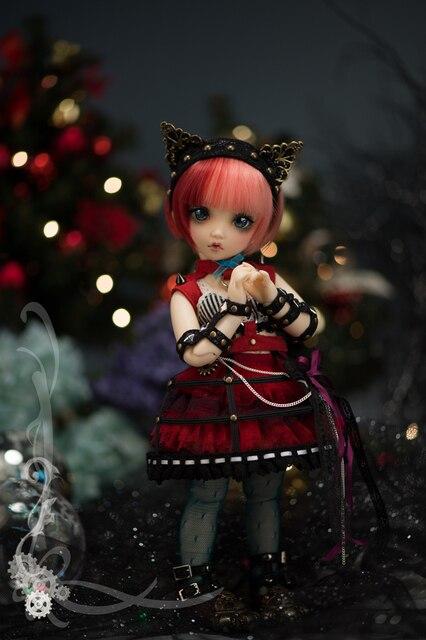 AQK(AQK)BJD 1/6  Mio resin doll    spot  (free send a pair of eyes) 2