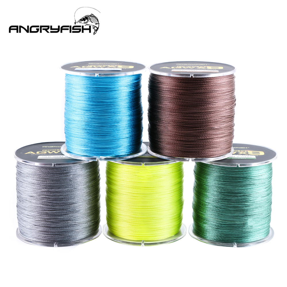 Image 3 - ANGRYFISH 9 Strands Weaves Braided 500M Fishing Line Super Strong PE Line 15LB 100LB-in Fishing Lines from Sports & Entertainment
