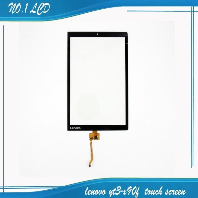 "10.1 ""polegadas preto novo para lenovo yoga yoga3 tab 3 tab3 pro yt3-x90f touch screen digitador de vidro sensor repartment"