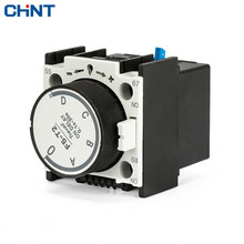 CHINT Atmosphere Time Head F5-T2 Communication Contactor Auxiliary Modular Electricity Delay 0.1S-30S