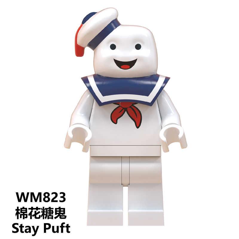 Blocos de Construção Ponto Elliott ET Estrangeiro Gremlins Gizmo Angie Stay Puft WM825 Sonic Faixa Brinquedos para As Crianças