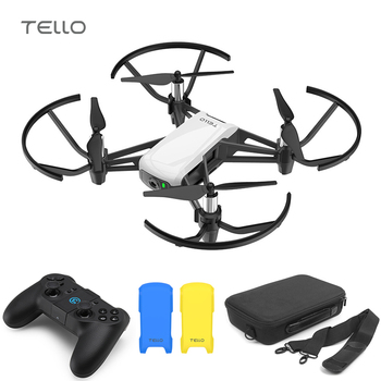 DJI Tello Drone & Bag & GameSir T1d & Cover 720P HD Transmission Camera APP Remote Control Folding Toy FPV RC Quadcopter Drone