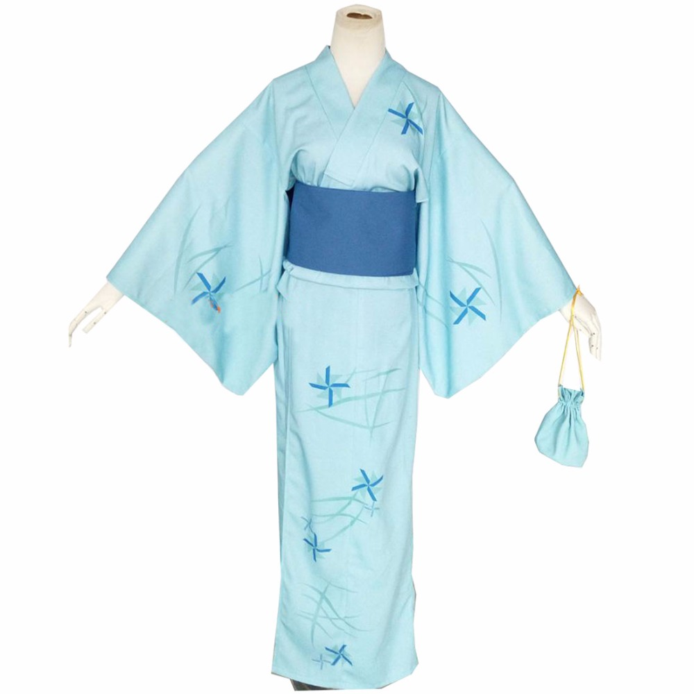 2018 New Arrival Anime Steins Gate Shiina Mayuri Cosplay Costumes Custom Made Kinomo