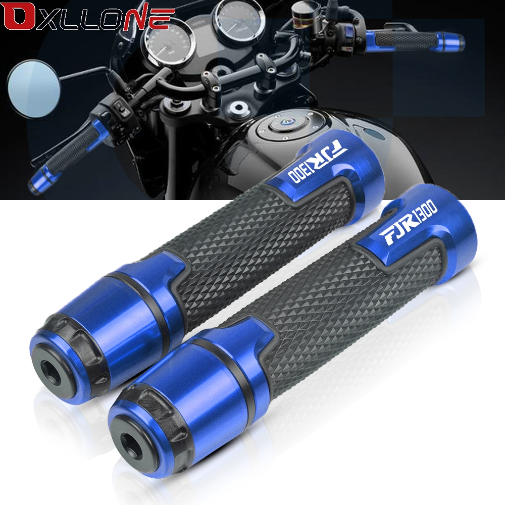 Universal CNC Aluminum Moto Handle Bar Grips Motorbike Street & Racing Motorcycle Accessories For Yamaha FJR1300 FJR 1300 2003