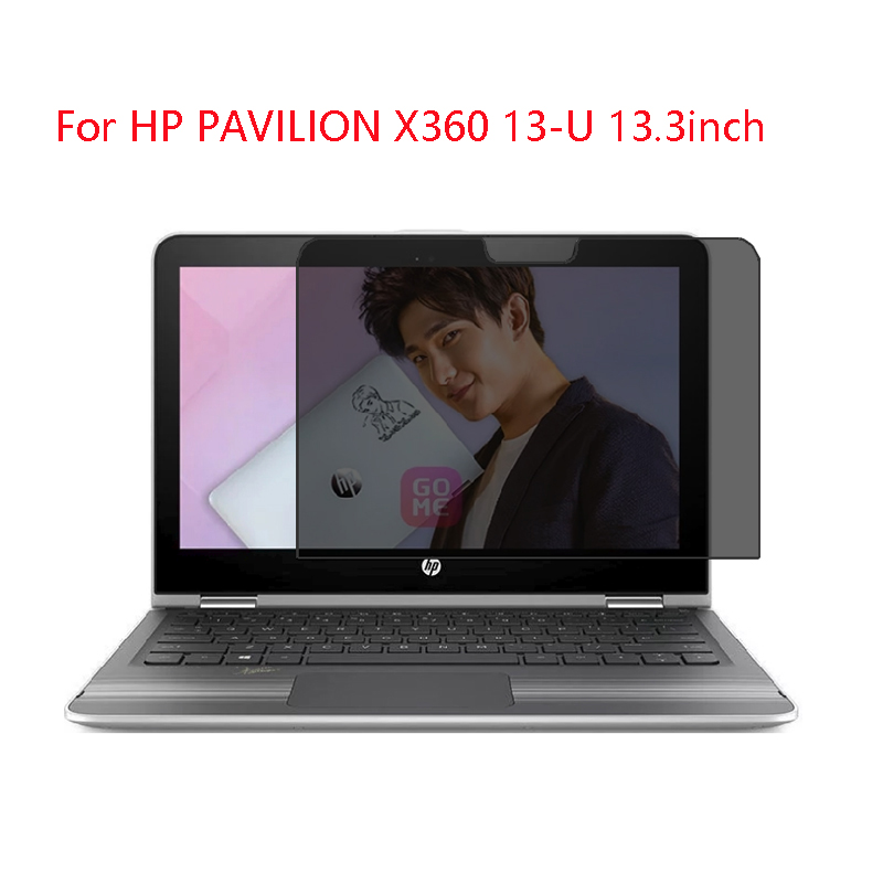 For HP PAVILION X360 13-U 13.3inch Laptop Screen Privacy Screen Protector Privacy  Anti-Blu-ray Effective Protection Of Vision