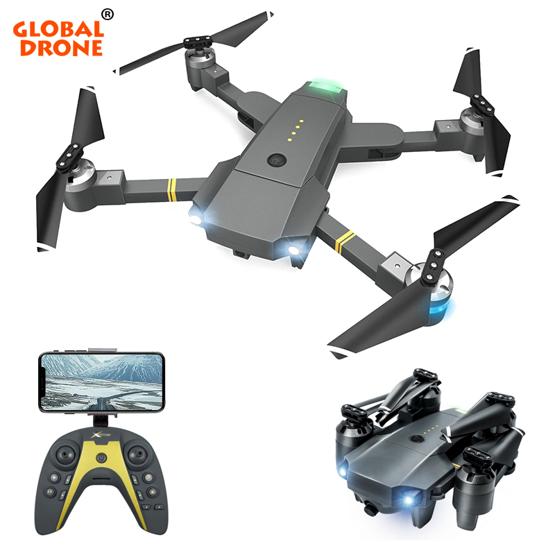 Global Drone FPV Drones with Camera HD RC Quadrocopter High Capacity Module Battery 20mins Long Time