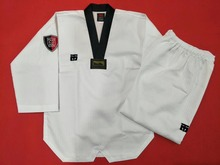 Mooto antrenörler taekwondo doboks Kukkiwon yetişkin antrenörler üniforma öğretmen doboks Taekwondo standart uluslararası eğitim takım elbise