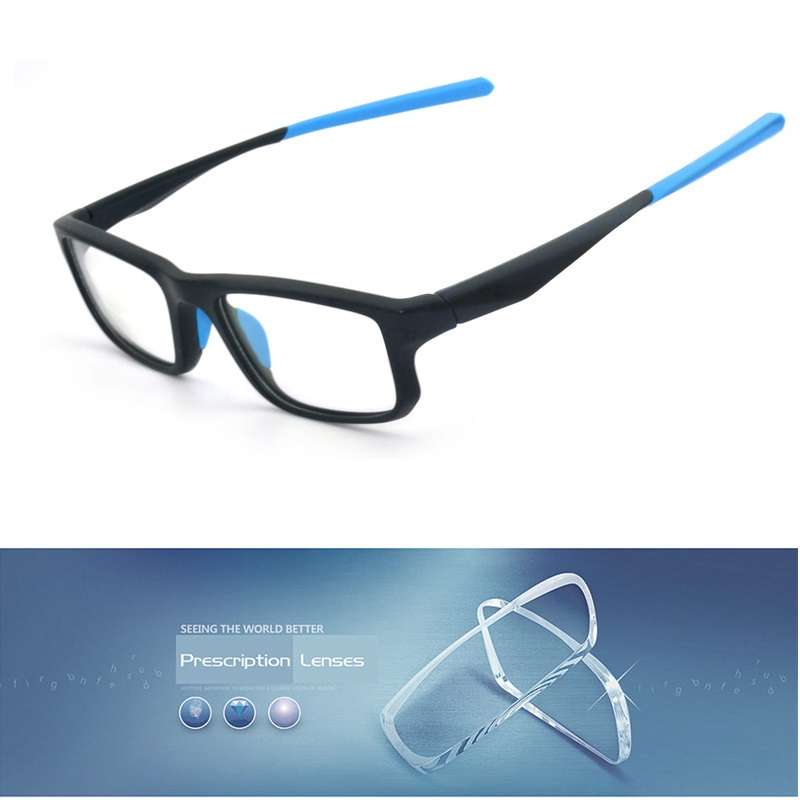 Cubojue Sport TR90 Glasses Men Women Customize 1.56 1.61 1.67 Index Photochromic/polarized Uv400 Myopia Optical Prescription Man