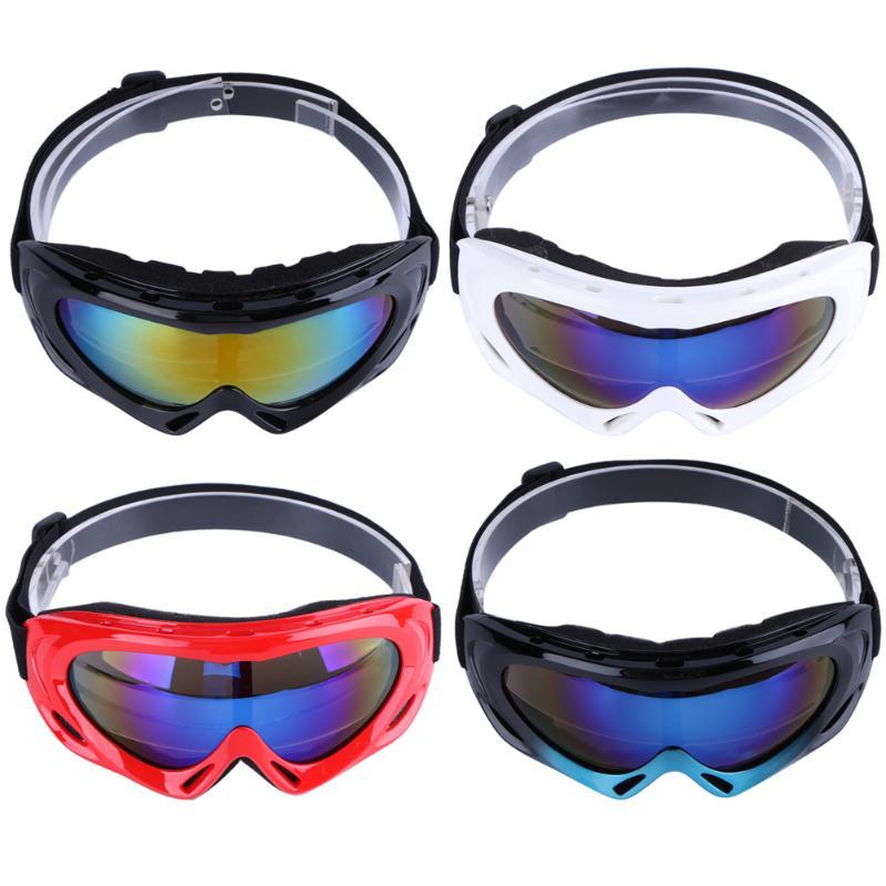 Men Women Anti-Fog Ski Goggles Cycling Comfortable Large Frame Glasse Windproof Dustproof Glasses Skate Ski Sunglasses Eyewear