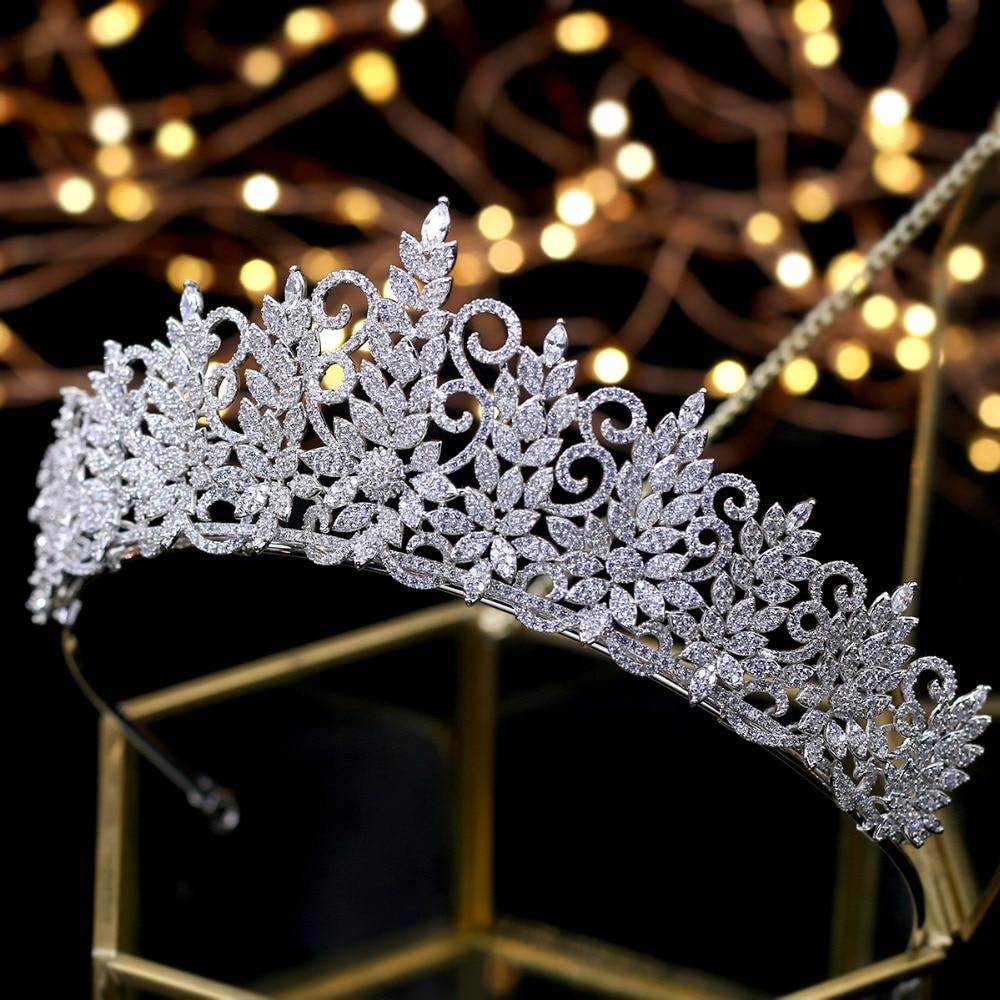 все цены на Amazing Queen Tiara Vintage Headpiece Wedding Crowns Bridal Hair Jewelry Tocado Novia Wedding Hair Accessories онлайн
