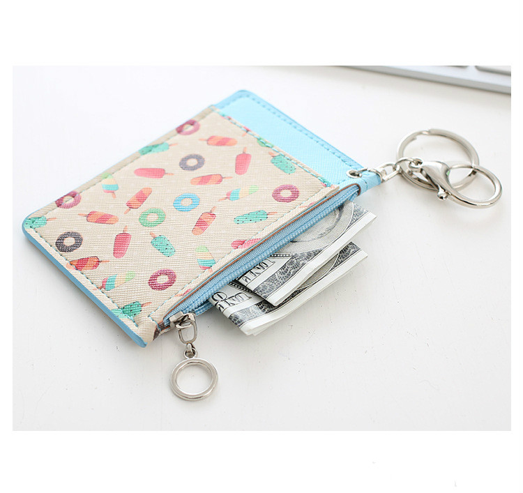 Multi-card-bit PackBag PU Leather Wallet Creadit Card Holder Bank Cardholder Leather with Key Chain or strap Womens Card CoverMulti-card-bit PackBag PU Leather Wallet Creadit Card Holder Bank Cardholder Leather with Key Chain or strap Womens Card Cover
